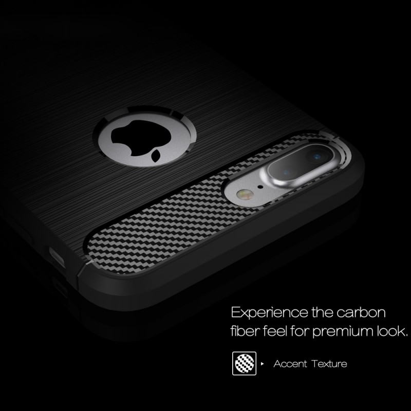 coque iphone 7 plus carbone