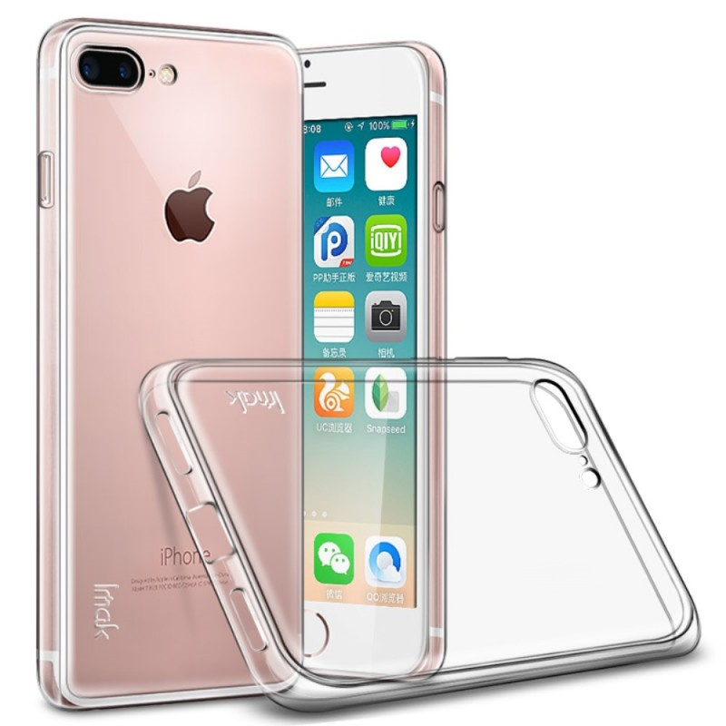 coque iphone 8 plus transparente resistante