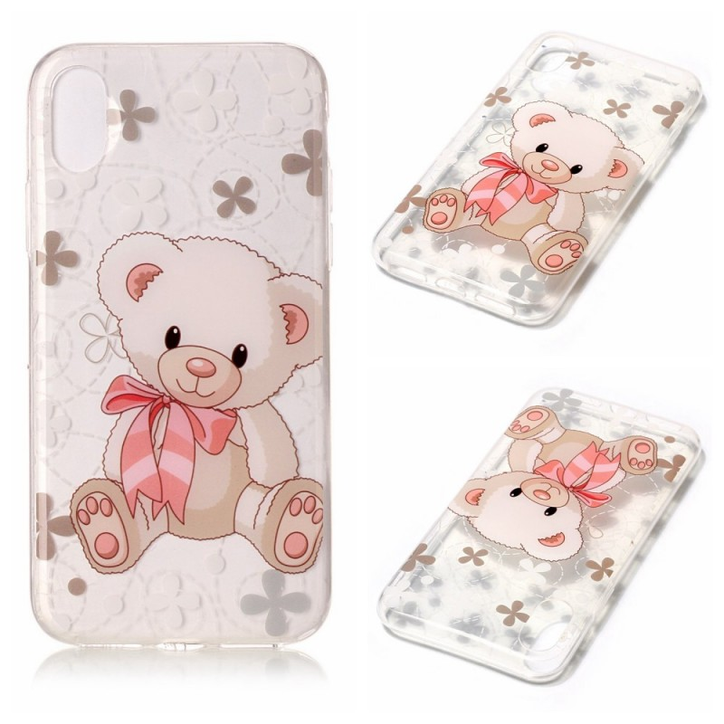 coque iphone xr ourson