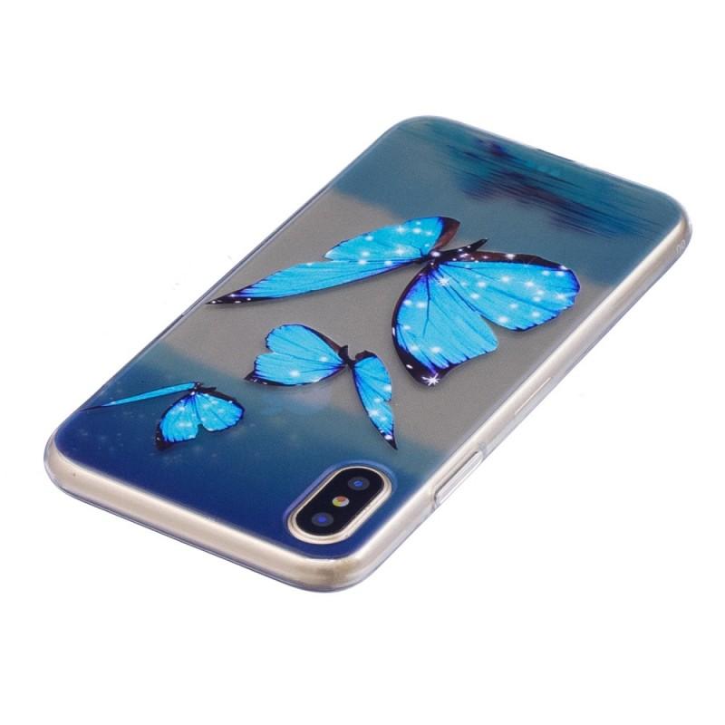 coque iphone x papillon