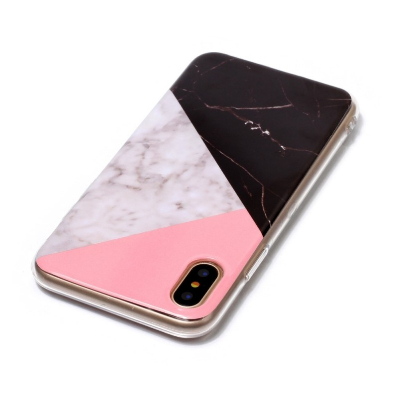 coque iphone x marbre