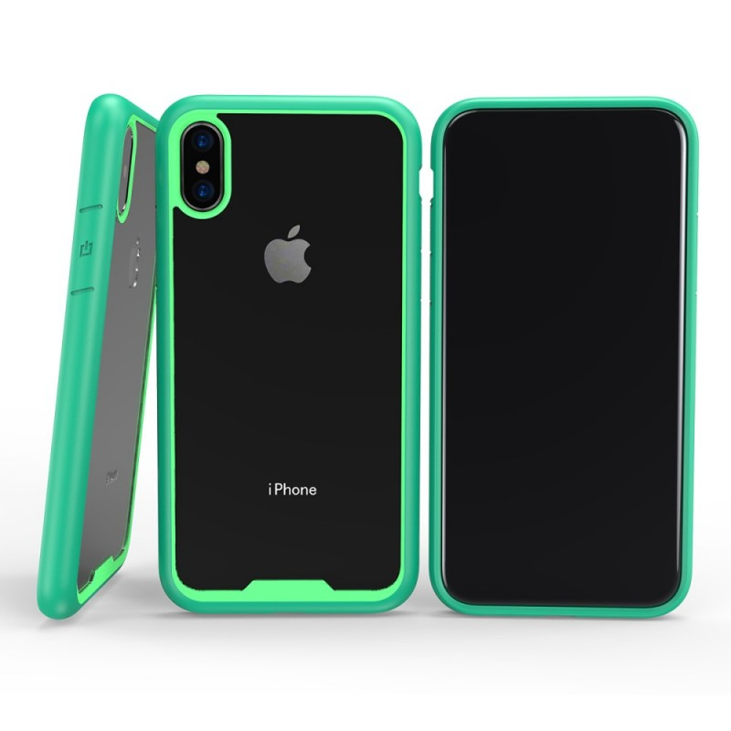 coque iphone x transparente flashy glossy premium. Black Bedroom Furniture Sets. Home Design Ideas