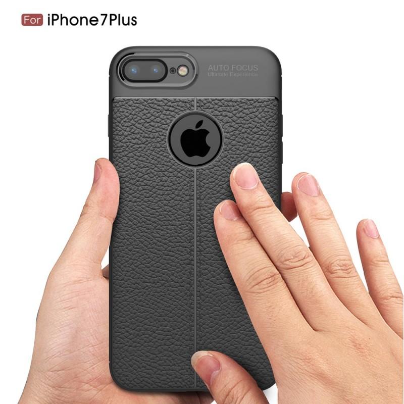 coque effet cuir iphone 8 plus