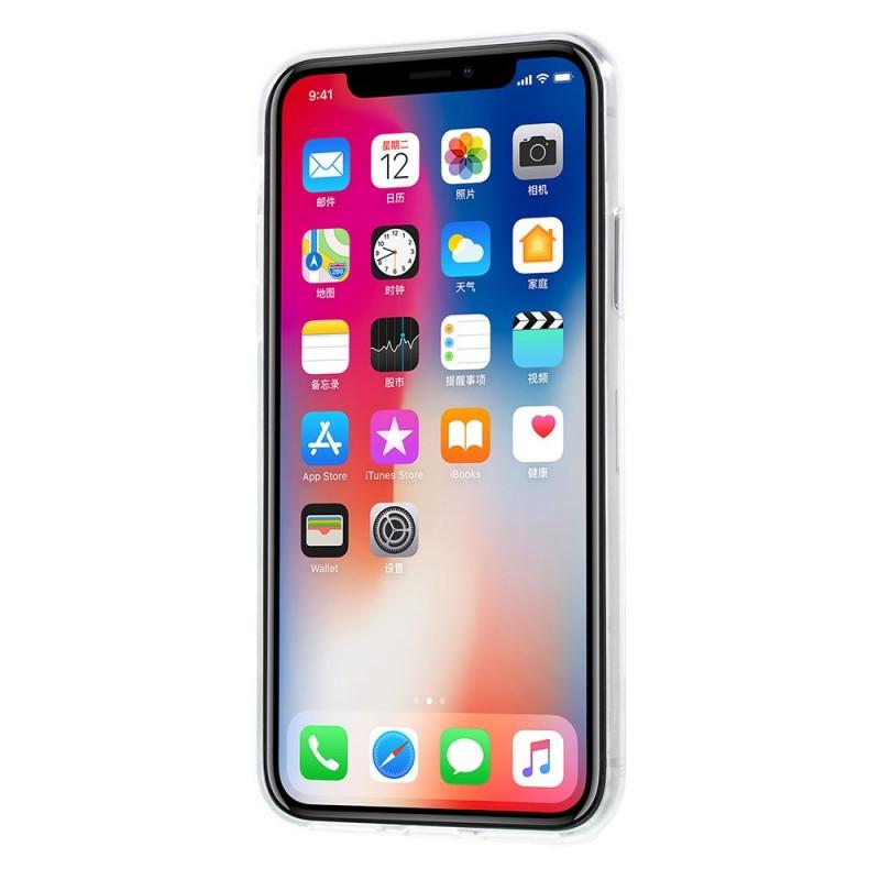 coque iphone x feuille