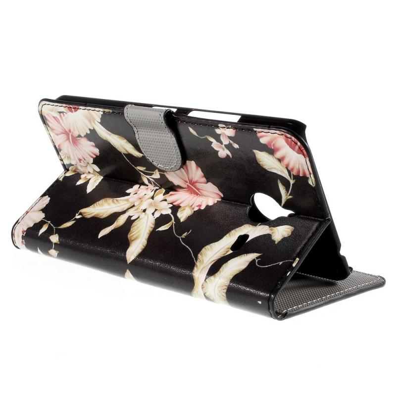 Housse microsoft lumia 640 xl fleurs l gantes for Housse lumia 640