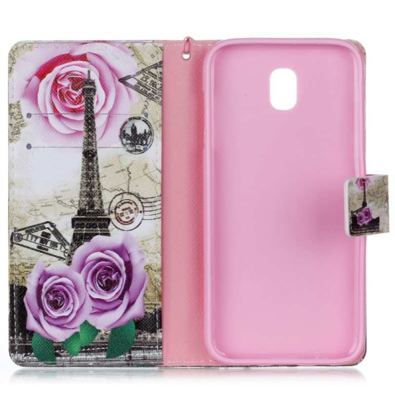 Housse samsung galaxy j5 2017 lani re tour eiffel r tro for Housse tour eiffel