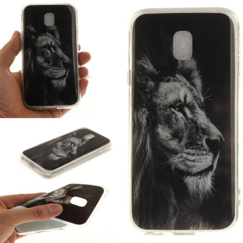 coque samsung j3 2017 lion