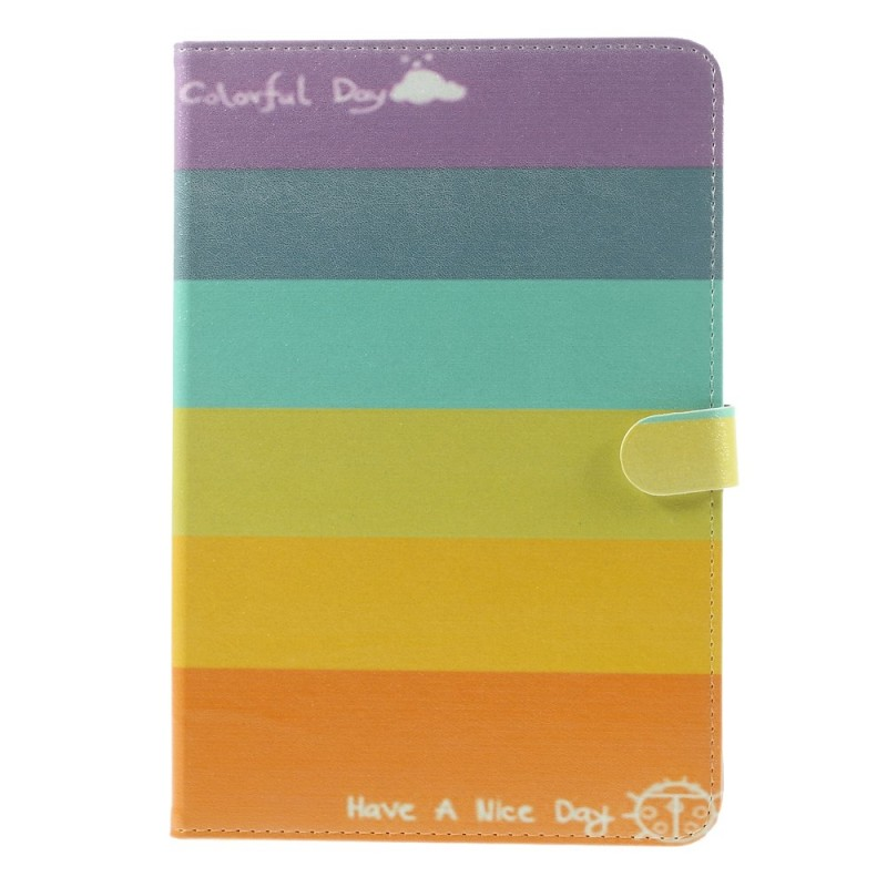 Housse ipad mini 3 2 1 multicolore for Housse i pad mini