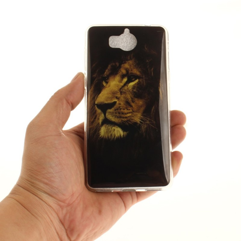 huawei y6 2017 coque lion