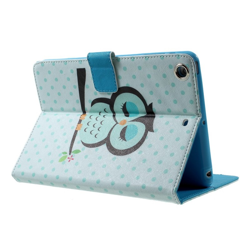 Housse ipad mini 3 2 1 hibou endormi for Housse ipad mini