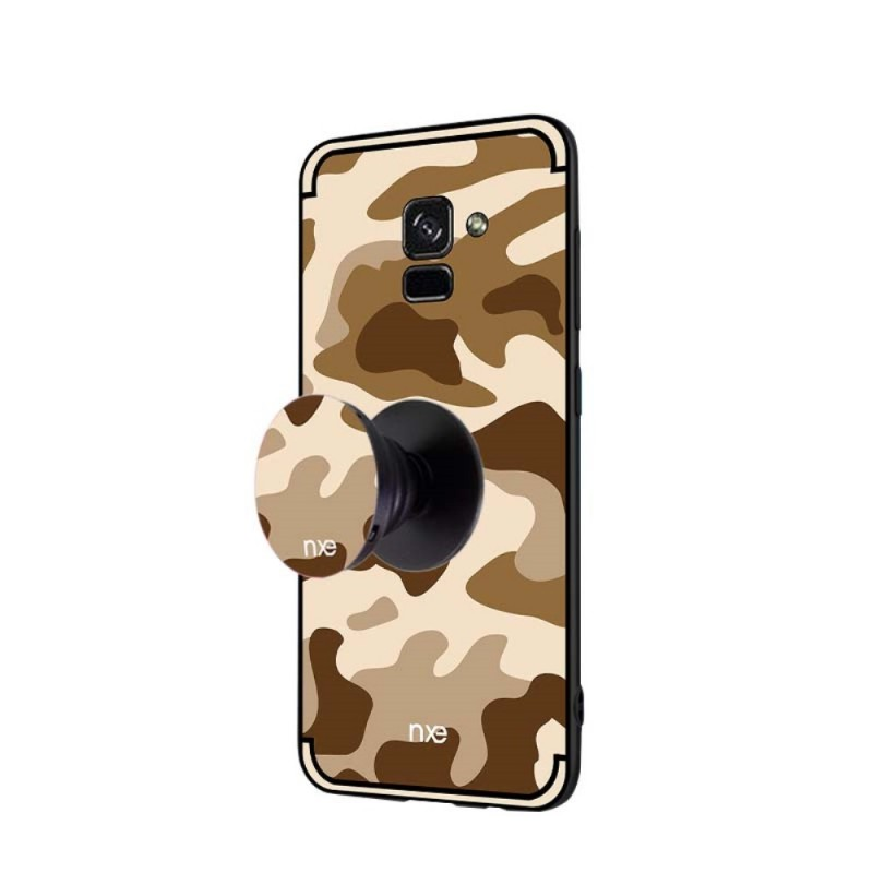 coque samsung galaxy a8 2018 nxe camouflage. Black Bedroom Furniture Sets. Home Design Ideas