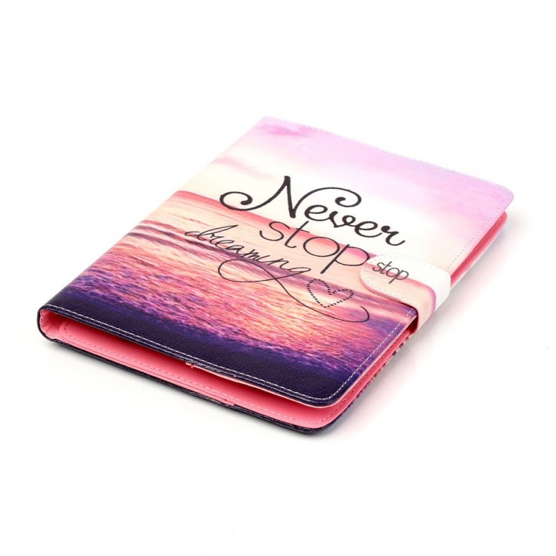Housse ipad mini 3 2 1 never stop dreaming for Housse i pad mini