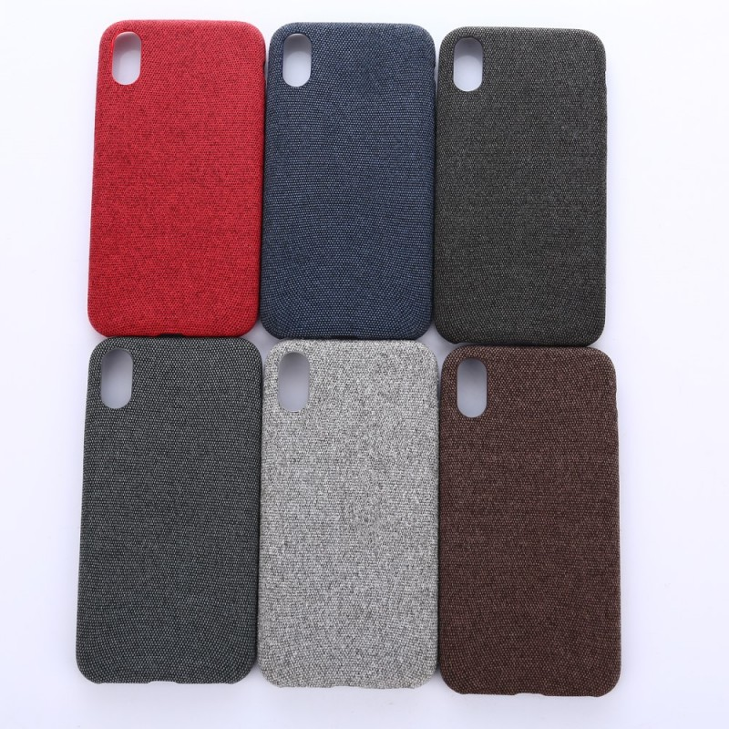 coque iphone x textile