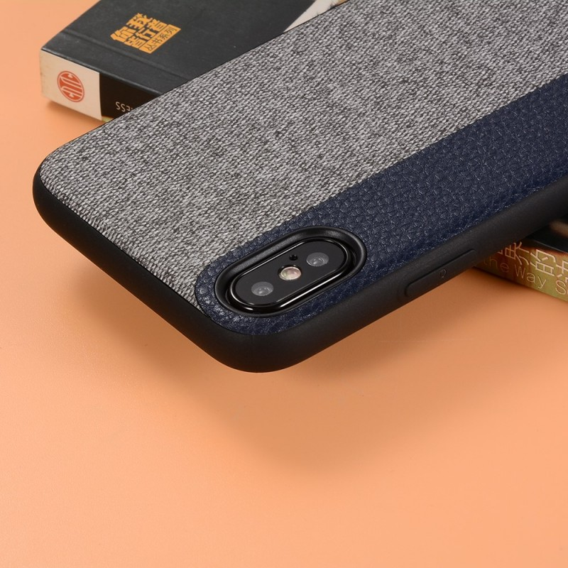 coque iphone x tissu