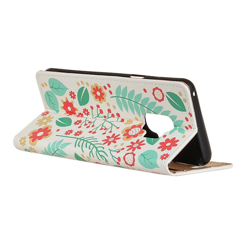 Housse samsung galaxy s9 printemps floral for Housse samsung galaxy s