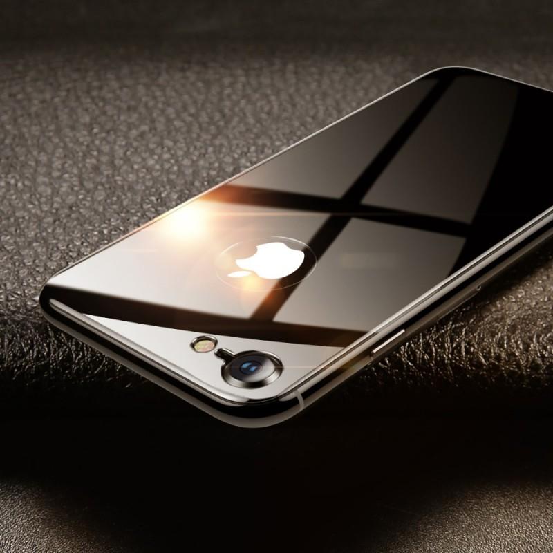 plaque en verre tremp pour le dos du iphone 8 7 baseus. Black Bedroom Furniture Sets. Home Design Ideas
