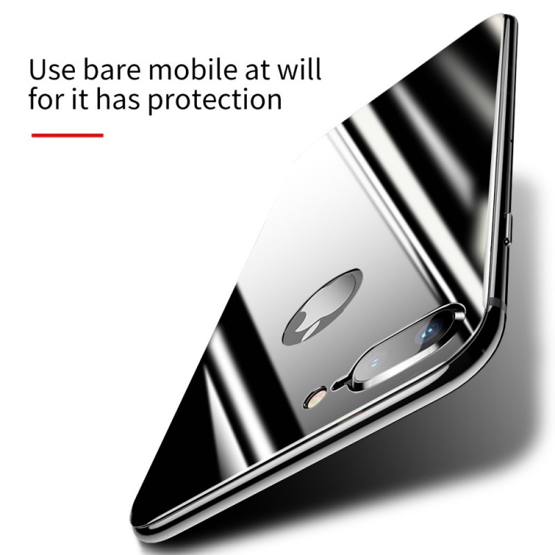 plaque en verre tremp pour le dos du iphone 8 plus 7 plus baseus. Black Bedroom Furniture Sets. Home Design Ideas