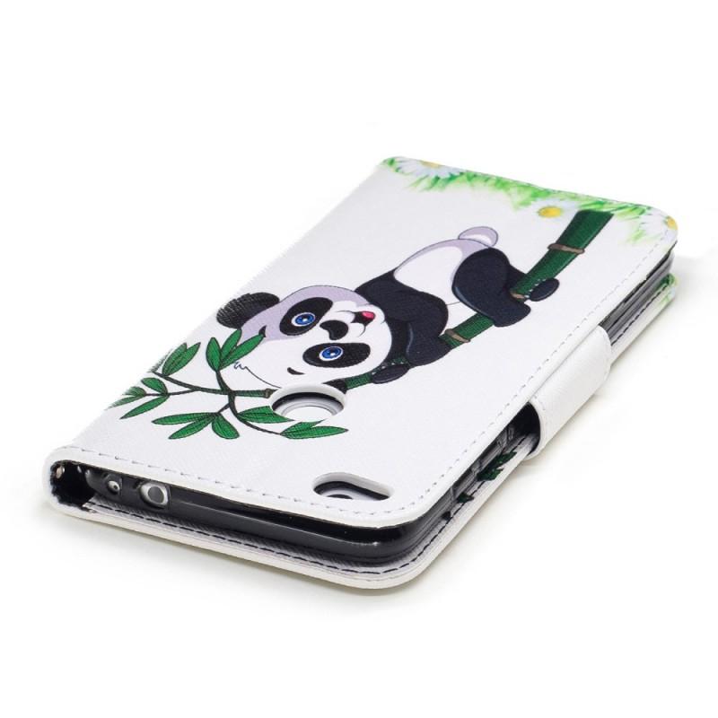 housse huawei p8 lite 2017 panda sur le bambou. Black Bedroom Furniture Sets. Home Design Ideas