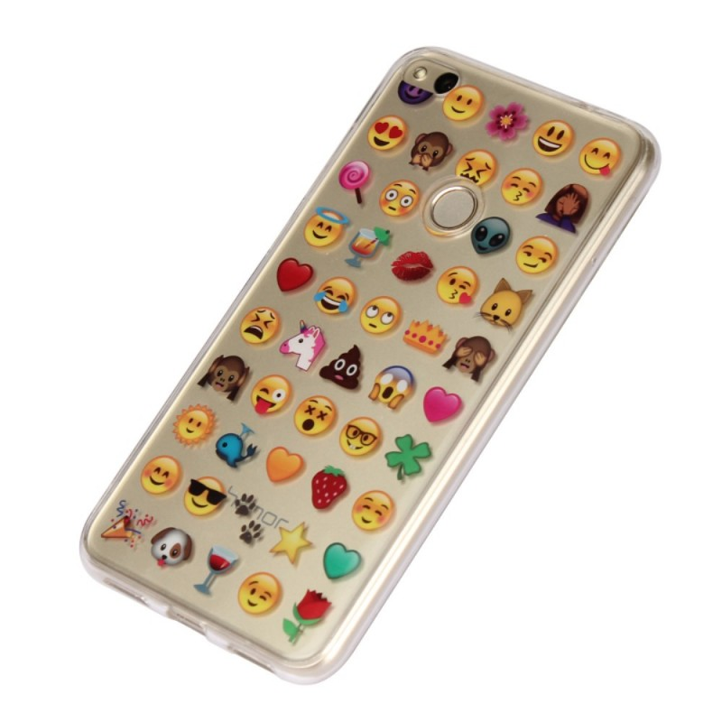 coque huawei p8 lite 2017 smiley