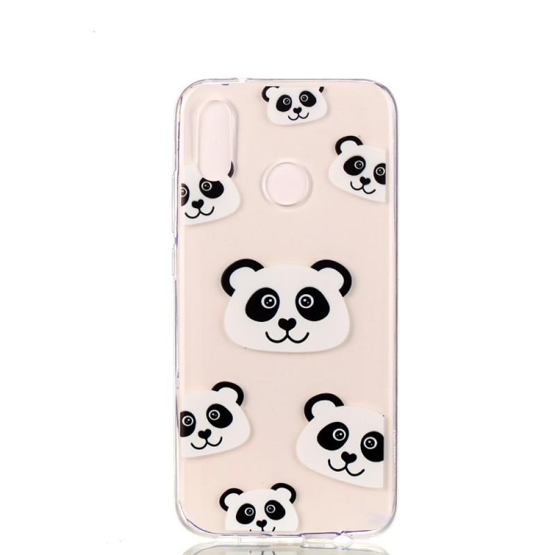 coque huawei p20 lite transparente fun pandas. Black Bedroom Furniture Sets. Home Design Ideas