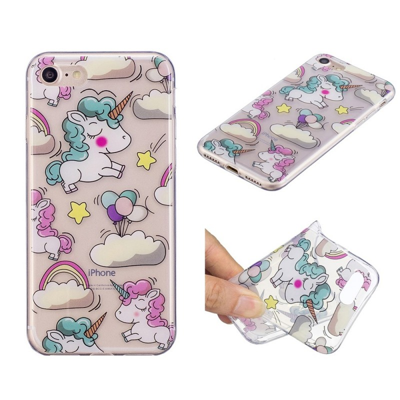 coque iphone 8 nuage