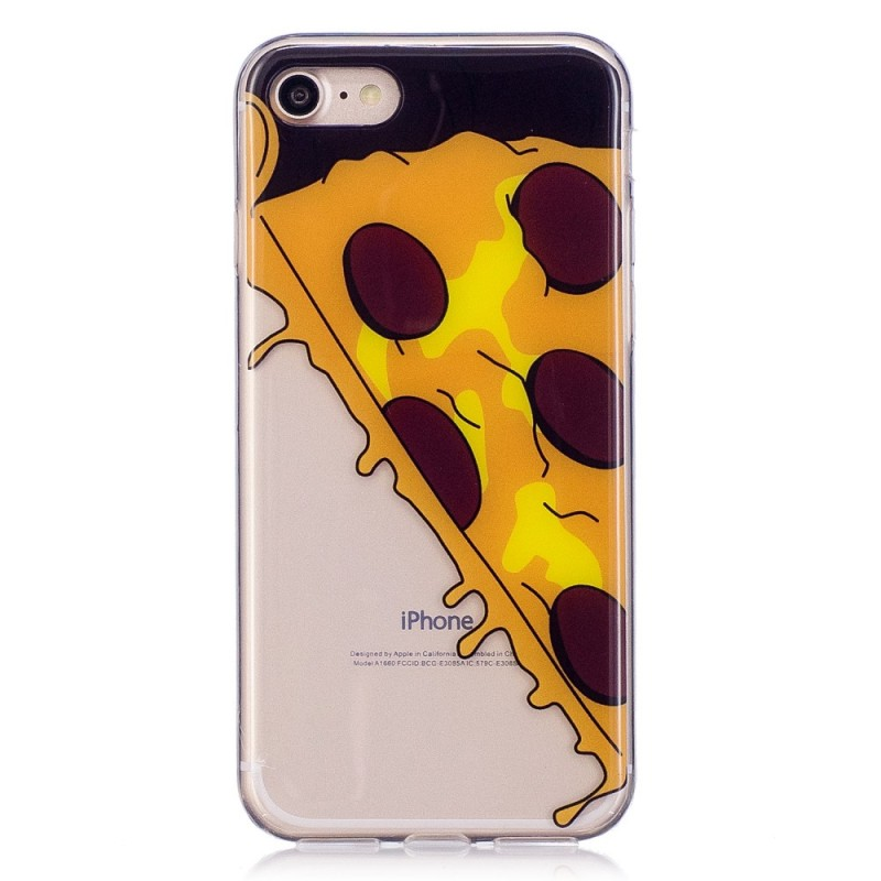 Coque iPhone SE 2 / 8 / 7 Hot Pizza