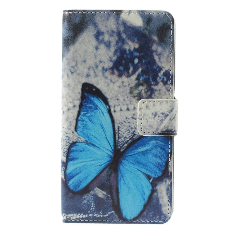 Housse microsoft lumia 640 papillon bleu for Housse lumia 640