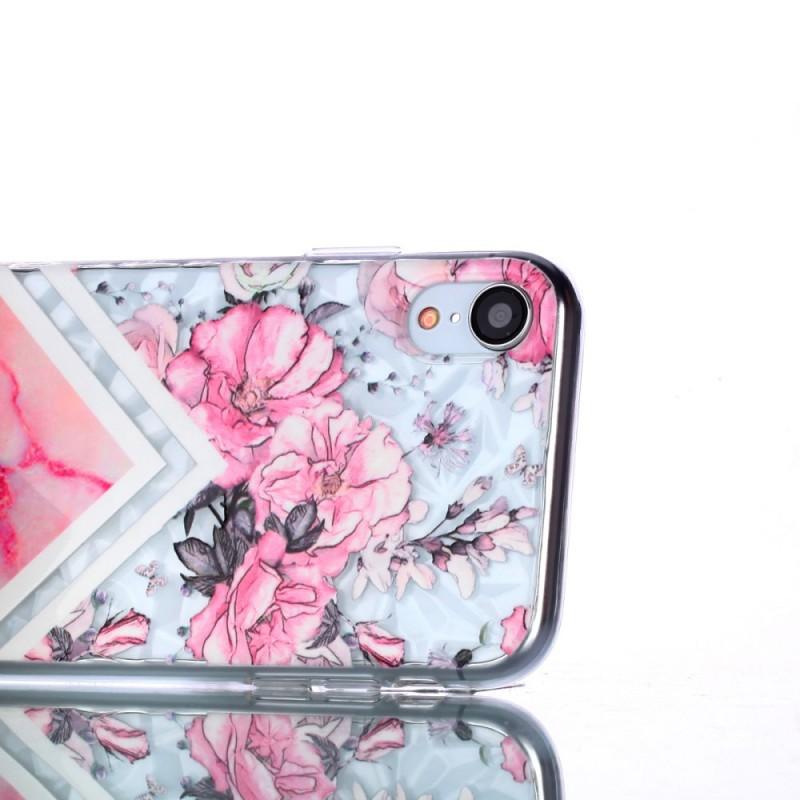 coque fleurie iphone xr