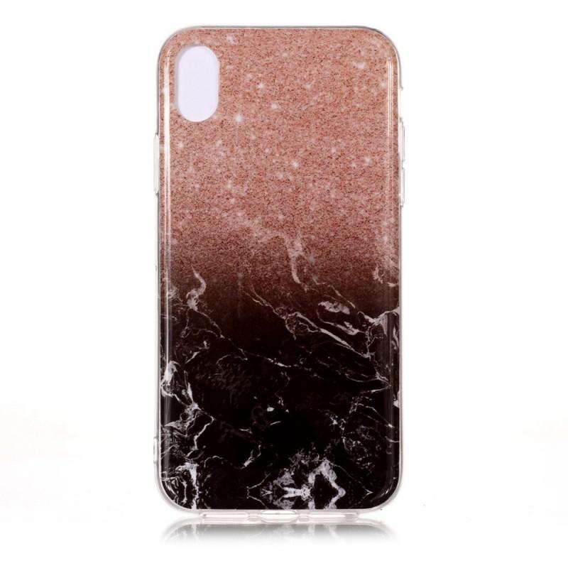 coque iphone xs effet marbre