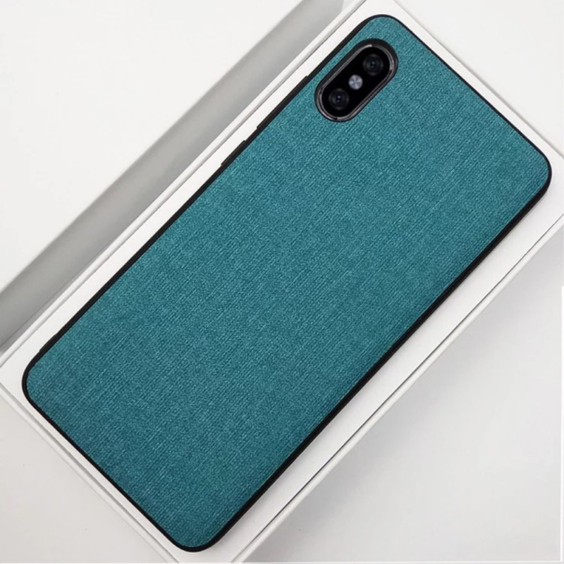 coque tissu iphone xr
