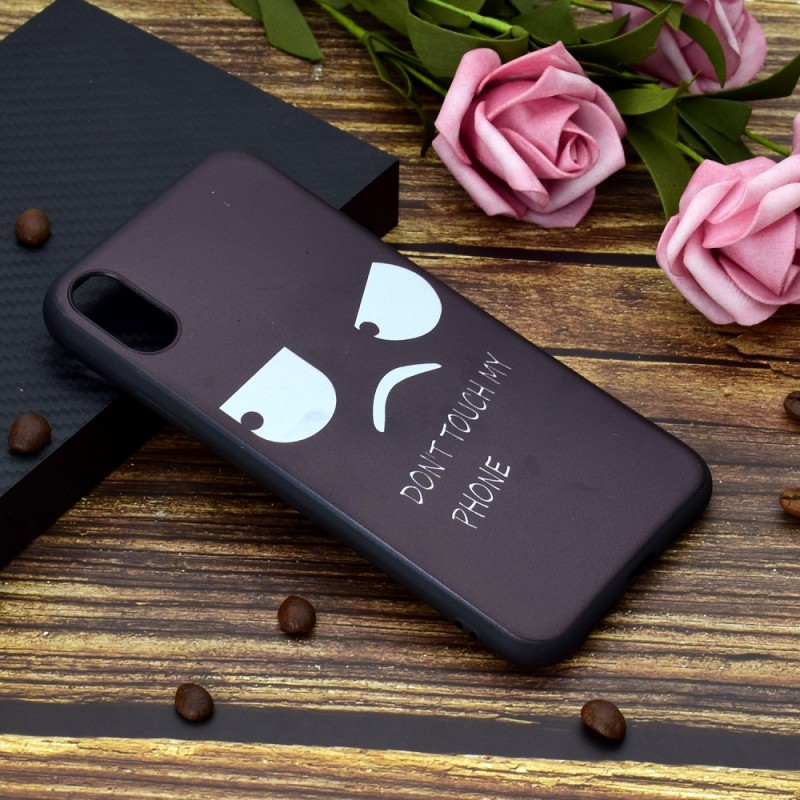 coque iphone xr dont touche my phone