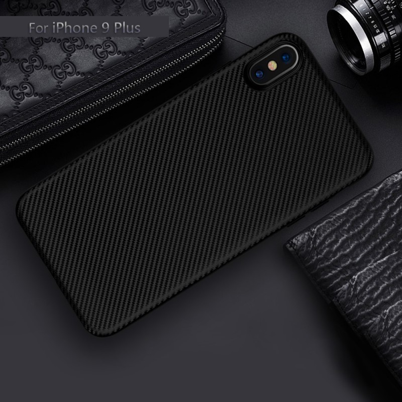 coque iphone xs max fibre carbone