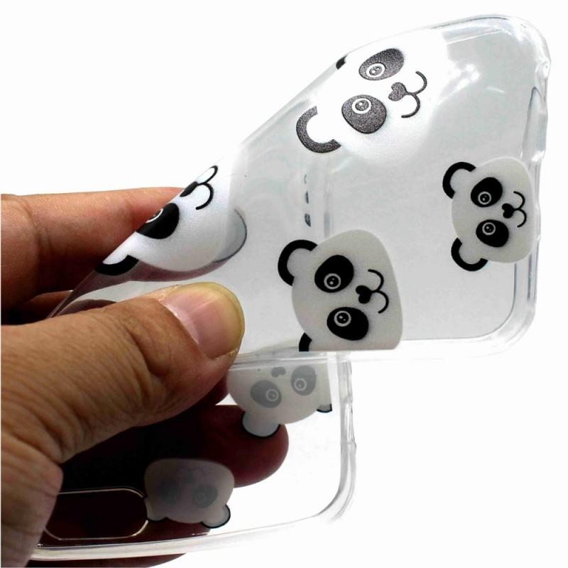coque iphone xs transparente panda