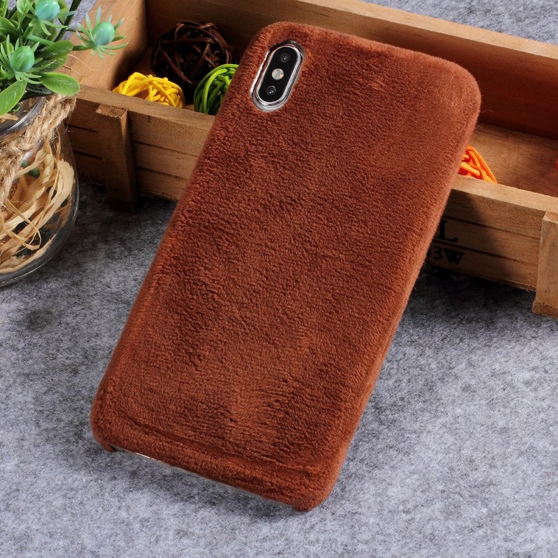 coque iphone xs max fourrure