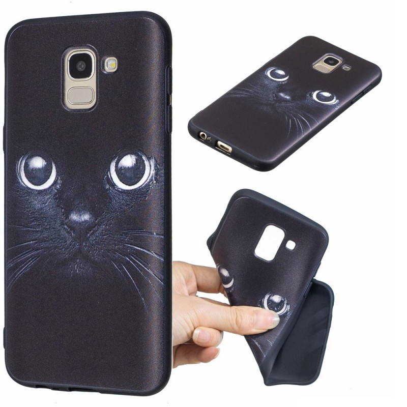 coque galaxy j6 chat