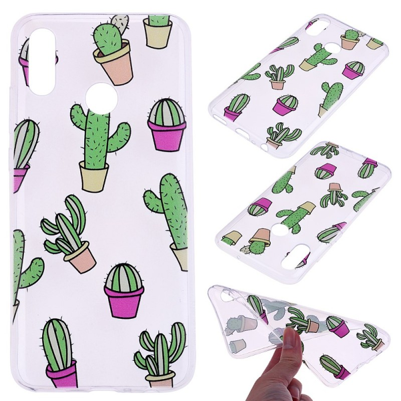coque huawei p smart cactus