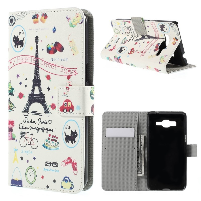 Housse samsung galaxy grand prime j 39 adore paris for Housse samsung galaxy grand prime
