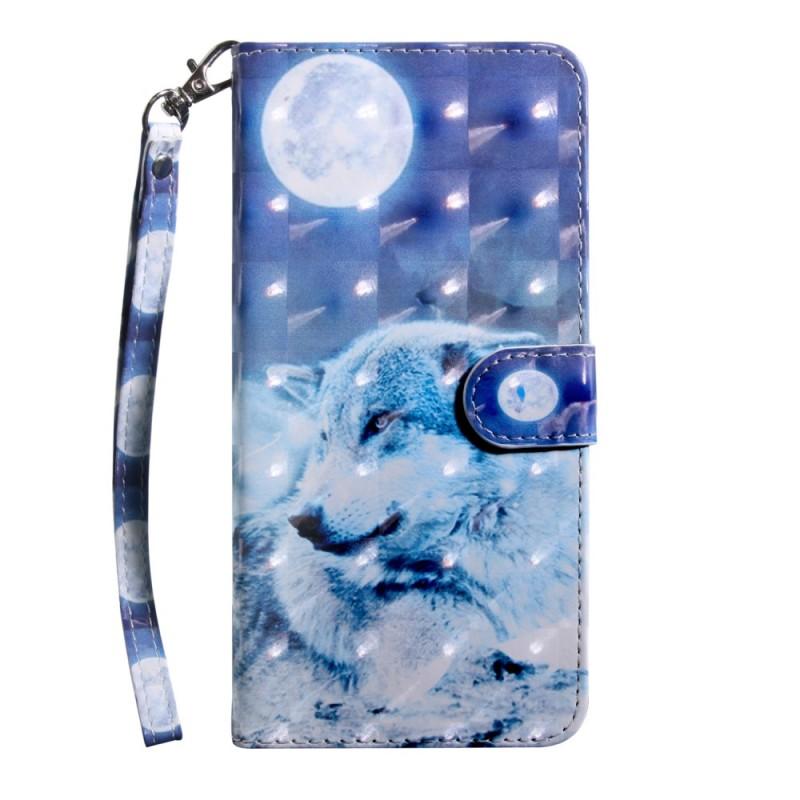 Housse Sony Xperia 10 Loup au Claire de Lune