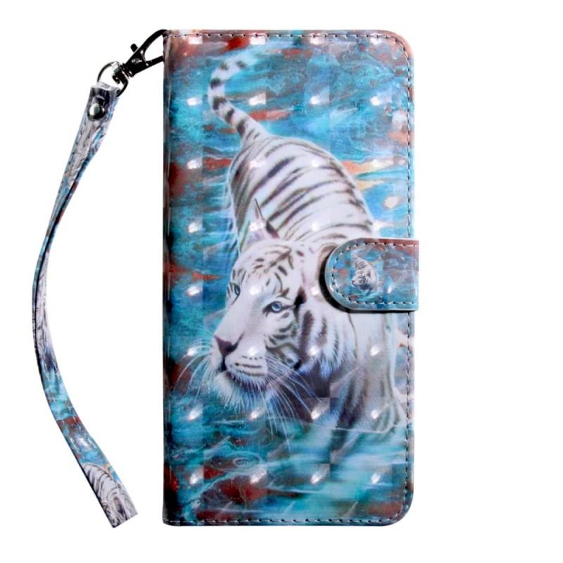 Housse Huawei Y6 2019 Tigre dans l'Eau