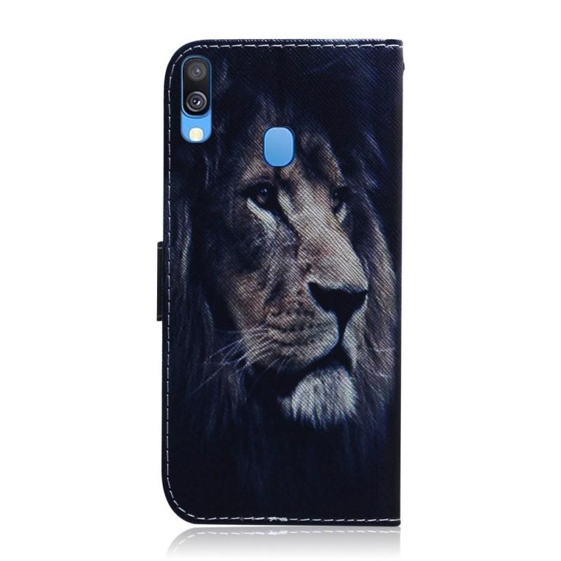 coque housse samsung galaxy a40 lion