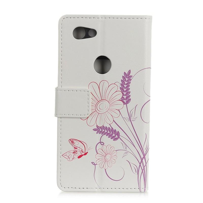 Housse Google Pixel 3a Xl Dessin Papillons Et Fleurs