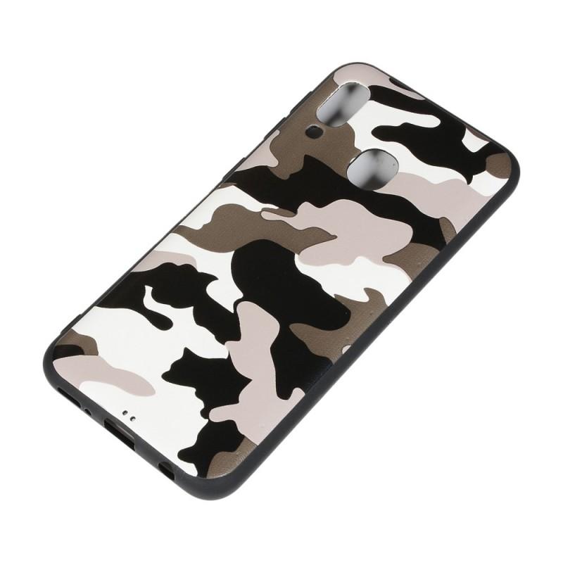 coque samsung a20e camouflage