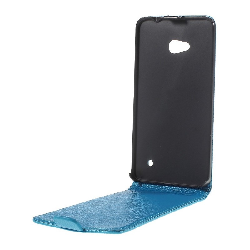 Housse microsoft lumia 640 rabattable silk for Housse lumia 640