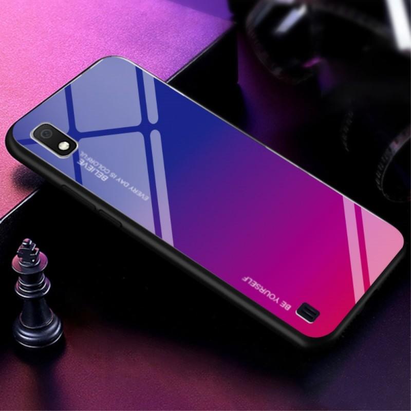 Coque Samsung Galaxy A10 Galvanisée Color
