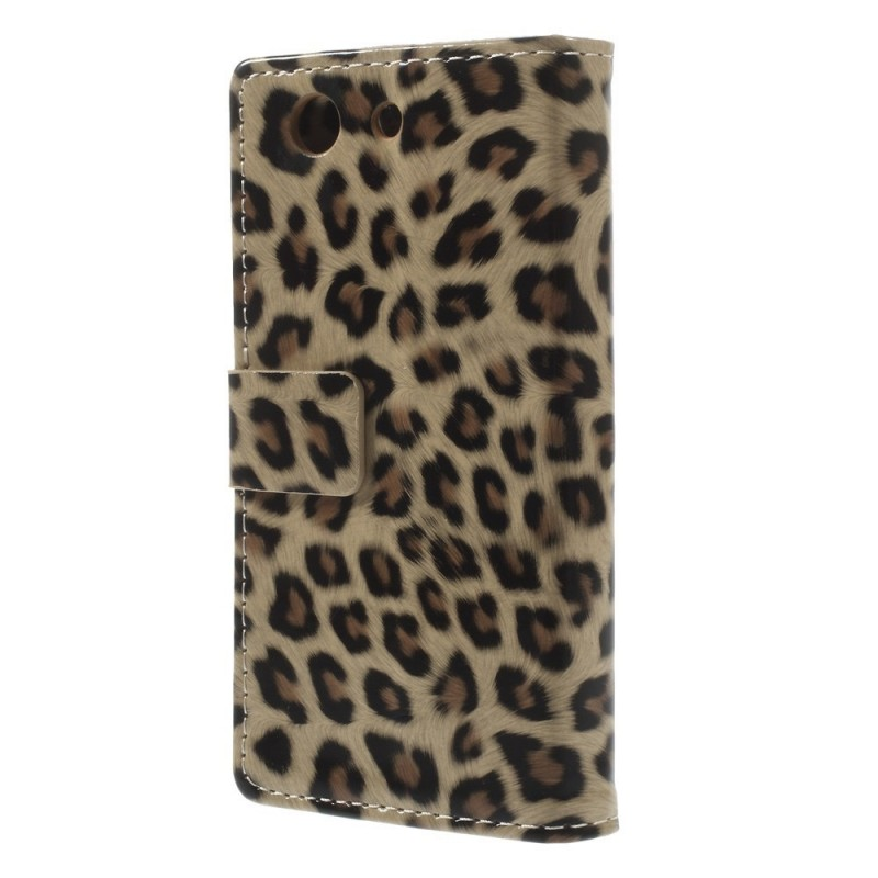 Housse sony xperia z3 compact l opard for Housse xperia z3