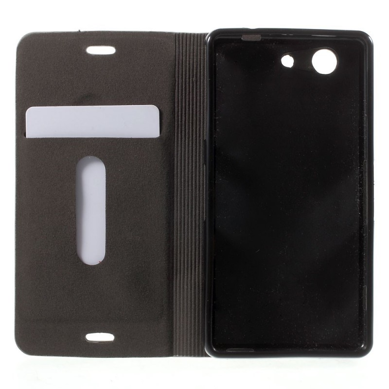 Housse sony xperia z3 compact slot cloth for Housse xperia z3