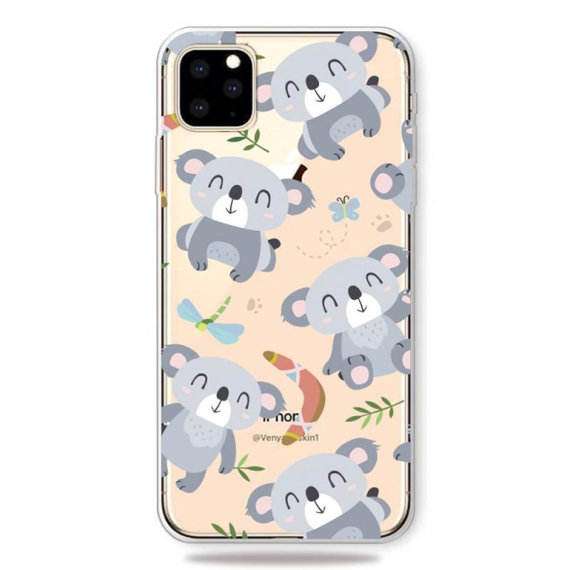 coque iphone 11 pro mignons koalas