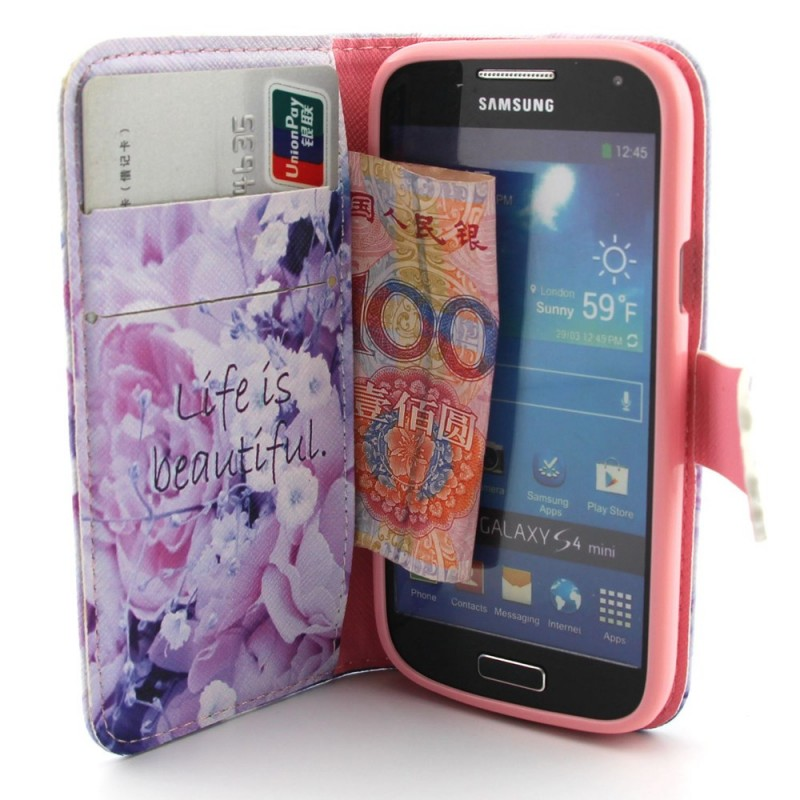 Housse samsung galaxy s4 mini life is beautiful for Housse samsung galaxy s4