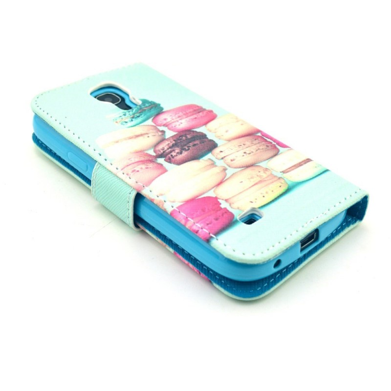 Housse samsung galaxy s4 mini macarons for Housse samsung galaxy s