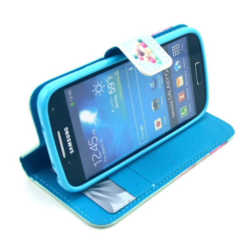 Housse samsung galaxy s4 mini macarons for Housse samsung galaxy s4